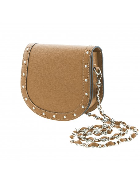 DE GRIMM Victoire studs - leather crossbody bag with chain VICTOIRE-CLOUS-GR 575,00€