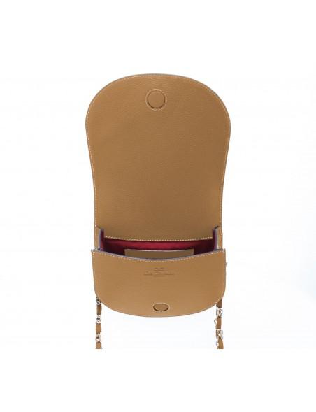 DE GRIMM Victoire clous - Sac bandoulière avec chaîne en cuir 575,00€