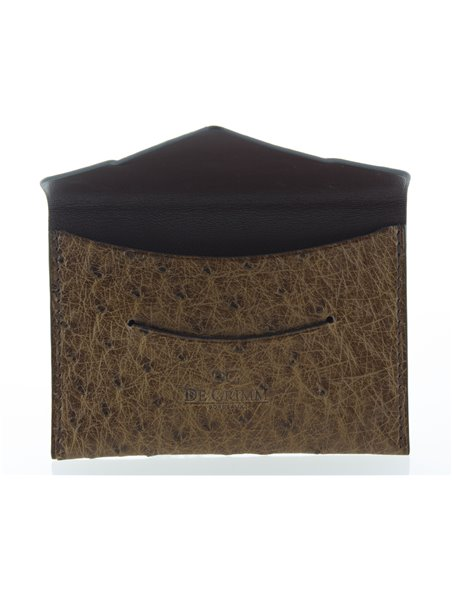 DE GRIMM CARD HOLDER Ostrich DGAUT-PORTECARTE 195,00€