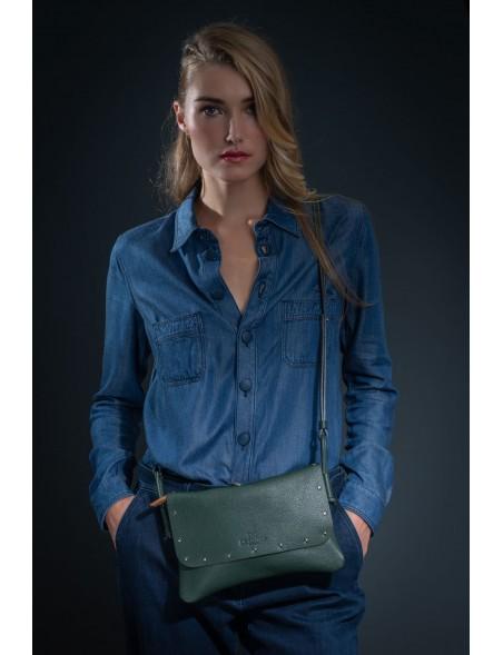 DE GRIMM City clous - Petit sac bandoulière en cuir 299,00€