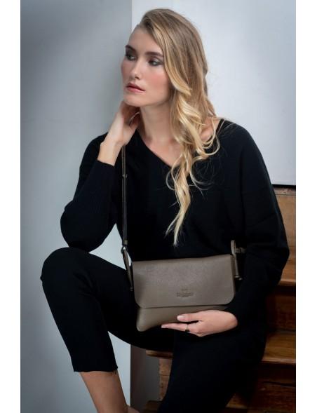 DE GRIMM City - Slim leather crossbody bag DGGR-CITY-II 285,00€