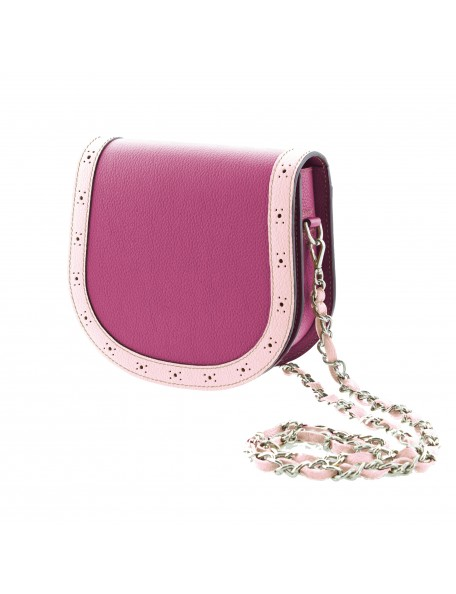 DE GRIMM Victoire - Leather crossbody bag with chain VICTOIRE-GR 560,00€