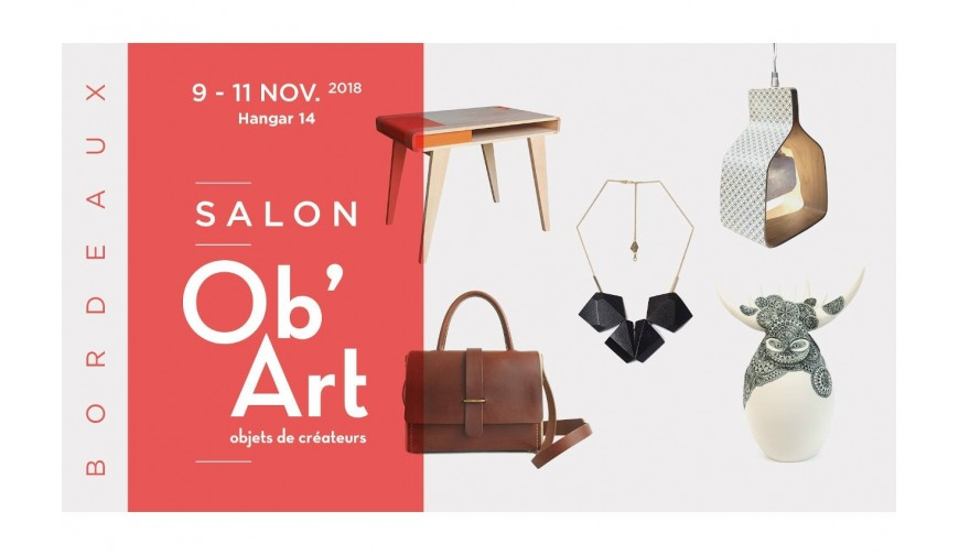 DE GRIMM at Ob'Art Bordeaux trade show from November 9th to 11th at the Hangar 14