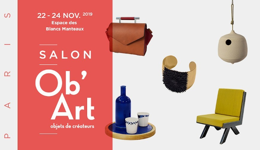 DE GRIMM attending Ob'Art Paris consumer show at Espace des Blancs Manteaux from November 22nd to 24th.